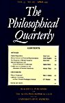 The Philosophical Quarterly